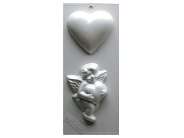 Yaley Soapsations Plastic Soap Molds 4 x 9 in. Cupid
