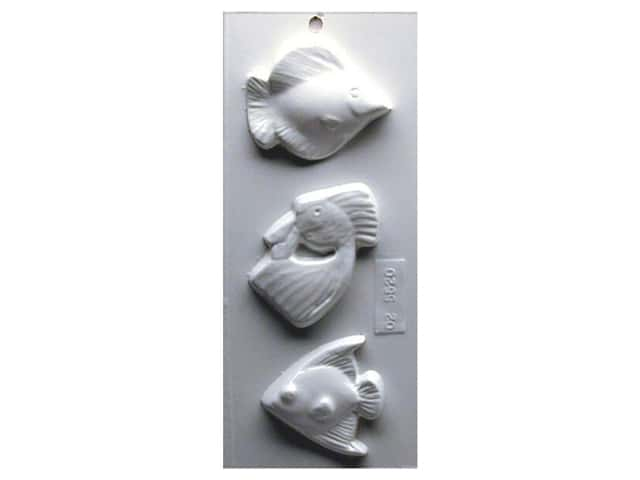 Yaley Soapsations Plastic Soap Molds 4 x 9 in. Fish