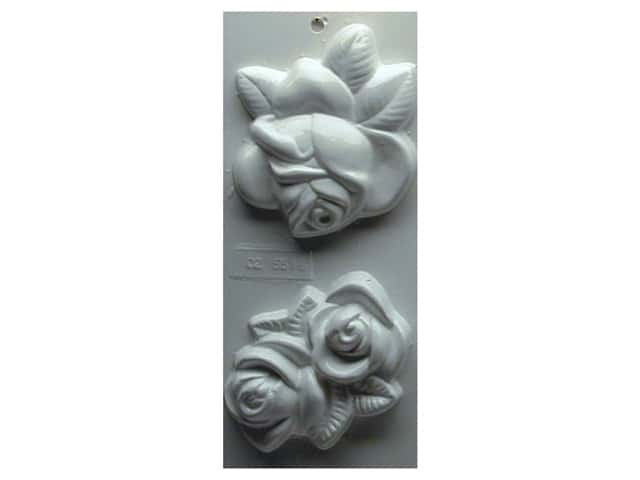 Yaley Soapsations Plastic Soap Molds 4 x 9 in. Roses
