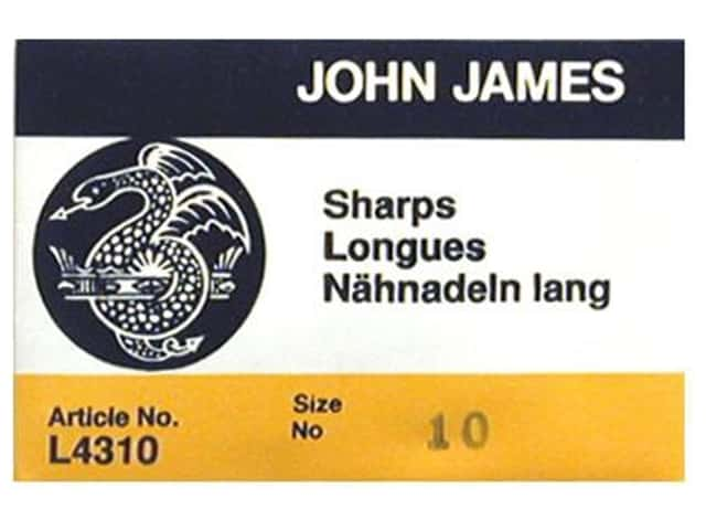 John James Needle Between 25 pc Size 10 (2 packages)