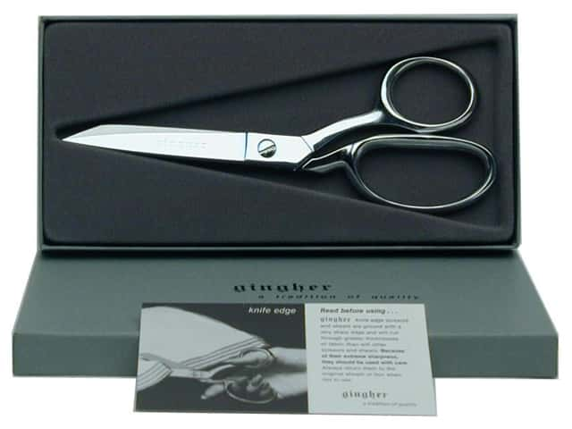 Gingher 7 in. Knife Edge Bent Trimmers