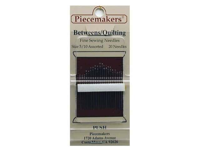 Piecemakers Between/Quilt Needles Size 5/10 (3 packages)