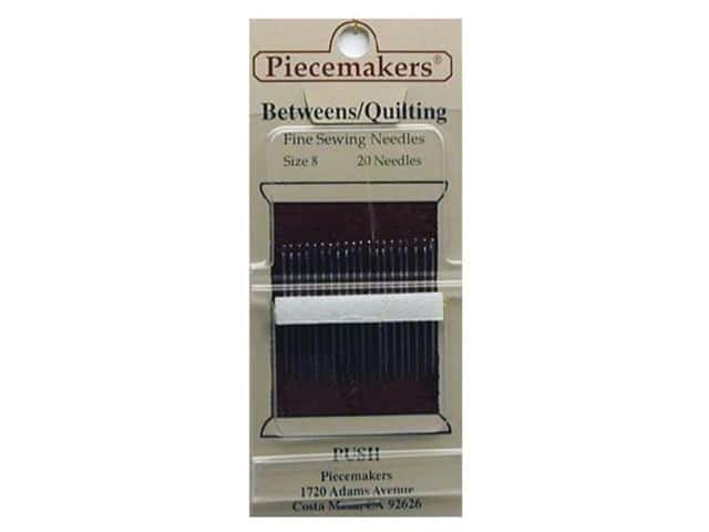 Piecemakers Between/Quilt Needles Size 8 (3 packages)