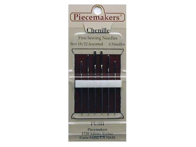 Piecemakers Specialty Needles Chenille Size 18/22 (3 packages)