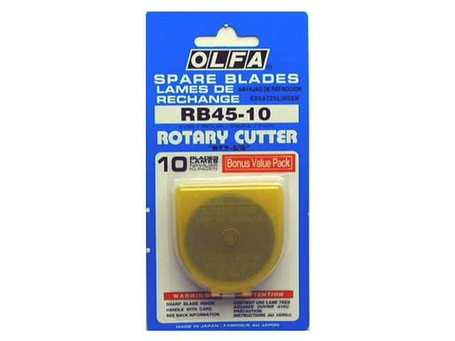 Olfa Replacement Blade 45 mm 10 pc.