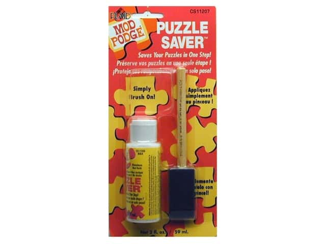 Plaid Mod Podge 2 oz. Puzzle Saver