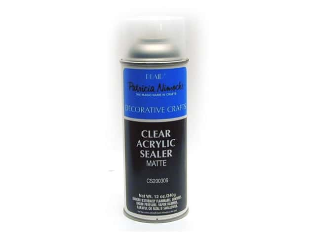 Plaid Patricia Nimocks Clear Acrylic Sealer 12 oz. Matte