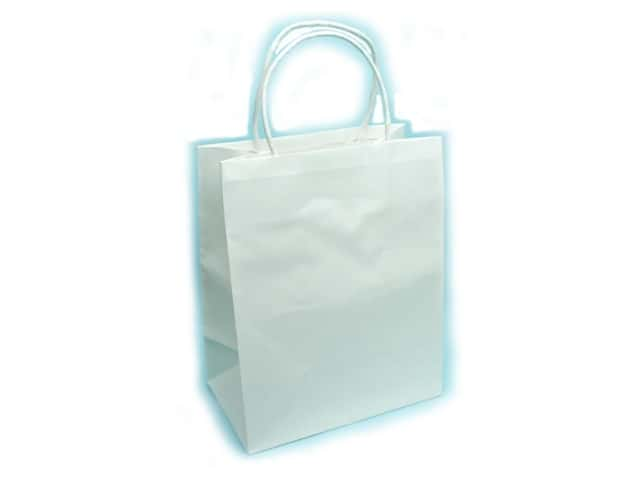Medium Gift Bag by Cindus Clay Coat White