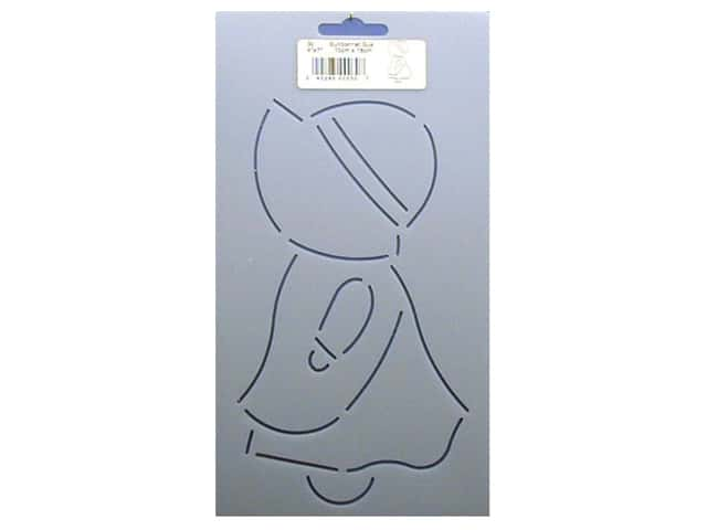 Quilting Creations Stencil Sunbonnet Sue 4 x 7 in.