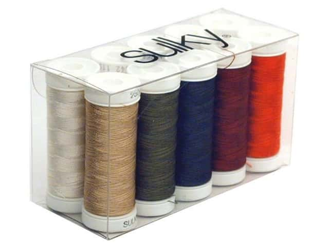 Sulky Rayon Thread 40 wt. 2nd 10 Sampler