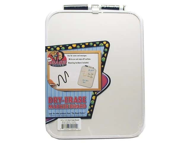 The Board Dudes Dry Erase Boards Vinyl Frame 8 1/2 x 11 1/2 in.