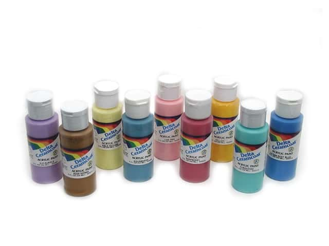 Ceramcoat acrylic paint by delta 2 oz createforless for Acrylic paint in bulk
