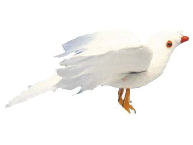 Accent Design Artificial Bird 5 in. Dove White 1 pc.