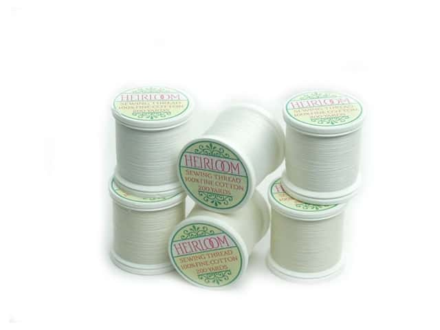 YLI Heirloom Cotton Thread 100/2 200yd