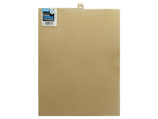 Darice Plastic Canvas #7 Mesh 10 1/2 x 13 1/2 in. Beige