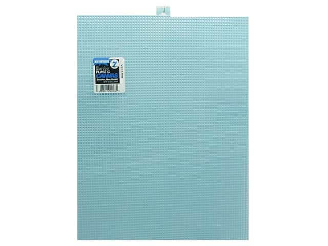 Darice Plastic Canvas #7 Mesh 10 1/2 x 13 1/2 in. Light Blue