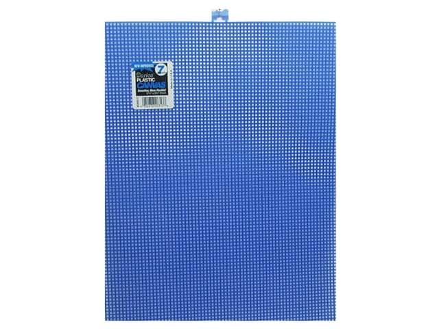 Darice Plastic Canvas #7 Mesh 10 1/2 x 13 1/2 in. Dark Blue (12 sheets)