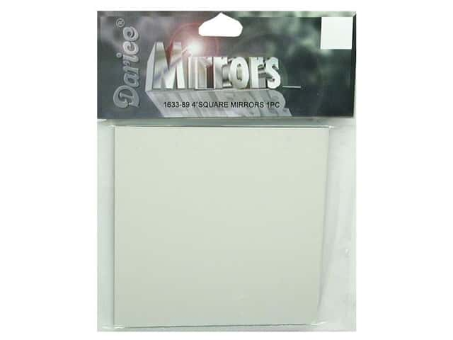 Darice Mirrors Square 4 in. 1 pc.