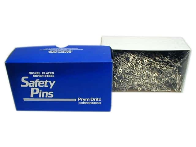 Bulk Safety Pins by Dritz 1 1/2 in. Nickel 1440pc.