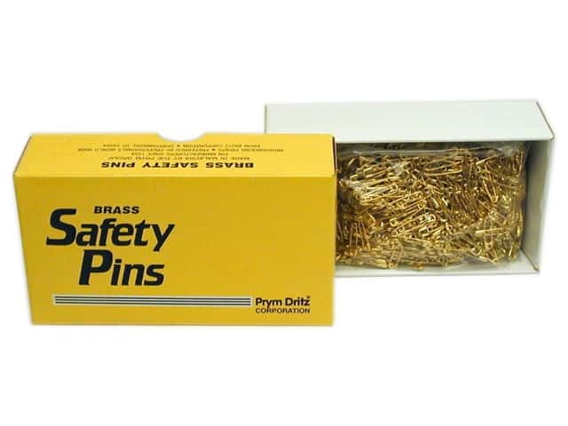 Bulk Safety Pins by Dritz 3/4 in. Brass 1440pc.