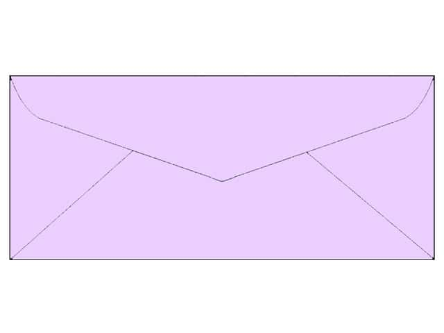 4 x 9 1/4 in. Letter Envelopes by Paper Accents 25 pc. #123 Lavender