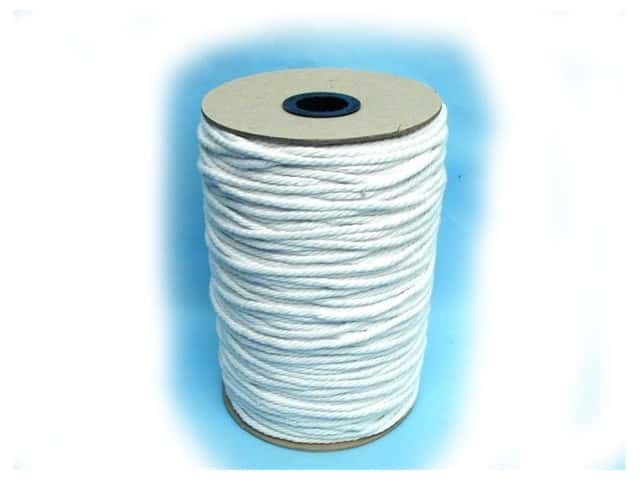 Conso Cable Cord Size 80 - 3/16 in. x 216 yd. White (216 yards)