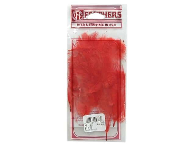 Zucker Feather Rooster Hackle Red .04 oz