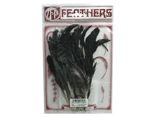 Zucker Feather Strung Natural Bronze Rooster Coque Feathers