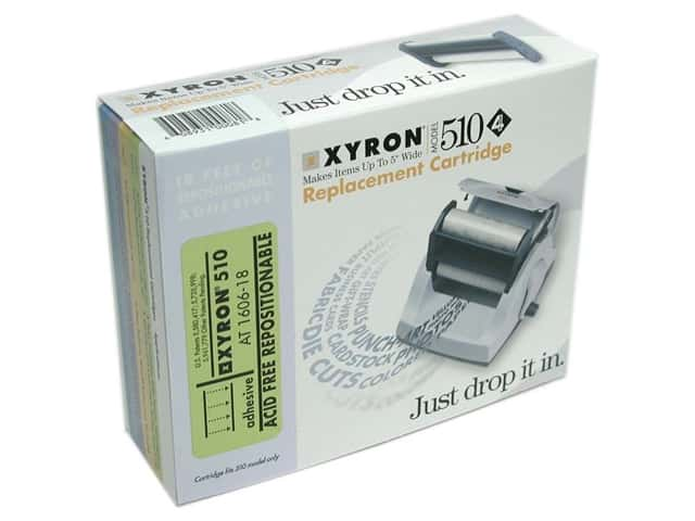 "Xyron 510 5"" Refill Adhesive Repositionable Acid Free 18'"