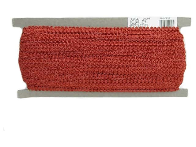 Conso Princess French Gimp Braid Trim 1/2 in. Chinese Red (36 yards)