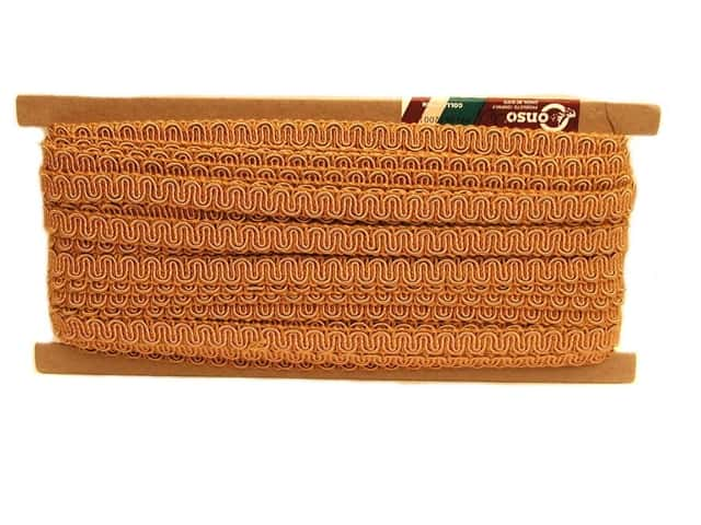 Conso Princess Scroll Gimp 1/2 in. x 36 yd. Camel (36 yards)