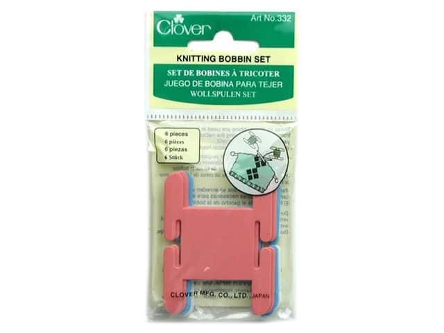 Clover Knitting Bobbin Set 6 pc.