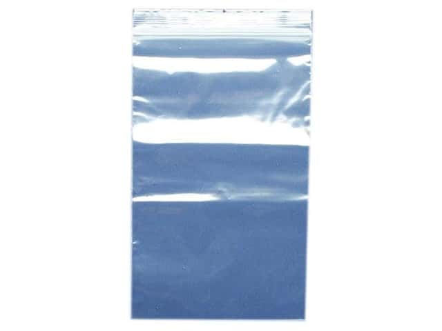 GTZIP Plain 2 Mil Zip Bags 5 x 8 in. Clear 100 pc.