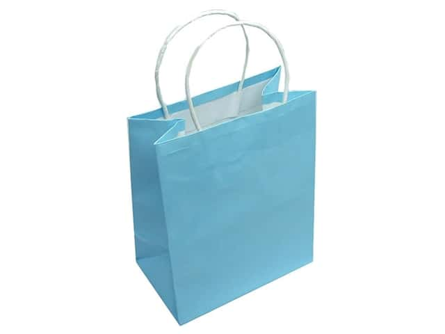 Medium Gift Bag by Cindus Clay Coat Baby Blue