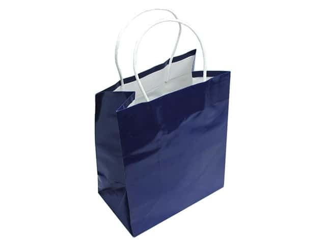 Cindus Gift Bag Medium Clay Coat Royal Blue