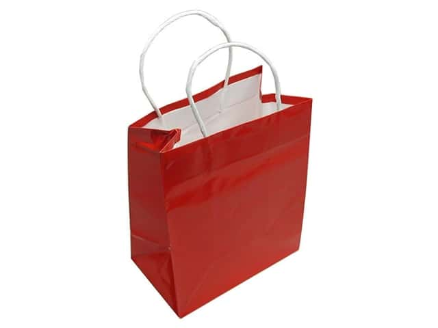 Medium Gift Bag by Cindus Clay Coat Red