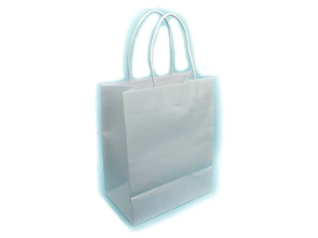 Medium Gift Bag by Cindus Kraft White