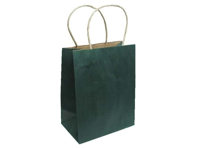 Medium Gift Bag by Cindus Kraft Emerald Green