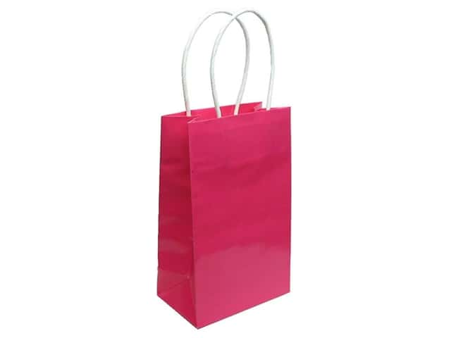 Small Gift Bag by Cindus Clay Coat Bombay Pink