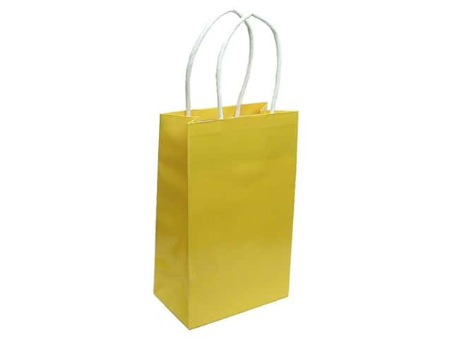 Small Gift Bag by Cindus Clay Coat Canary Yellow