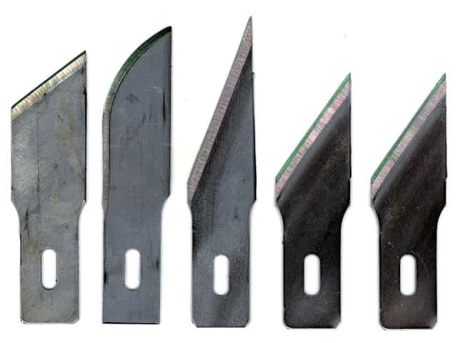 Excel Hobby Knife Blade Assorted Heavy Duty 5 pc