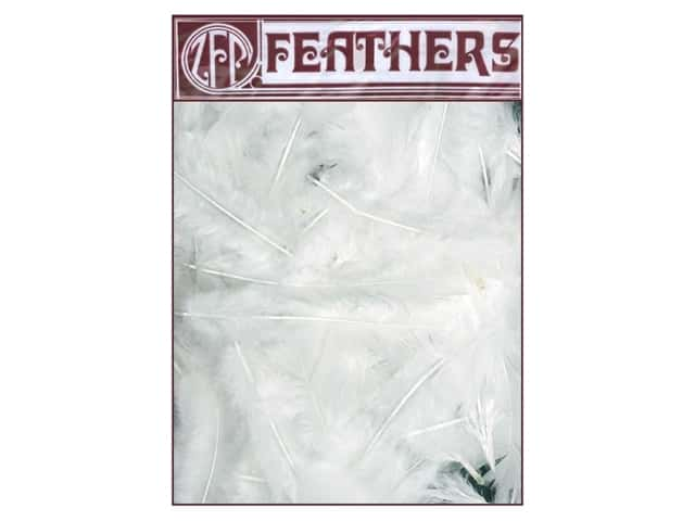 Zucker Feather Turkey Flats Feathers 1/2 oz. White