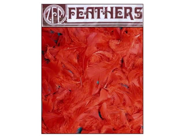 Zucker Feather Turkey Plumage 0.5 oz Red