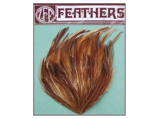 Zucker Feather Hackle Pad 1 pc. Natural