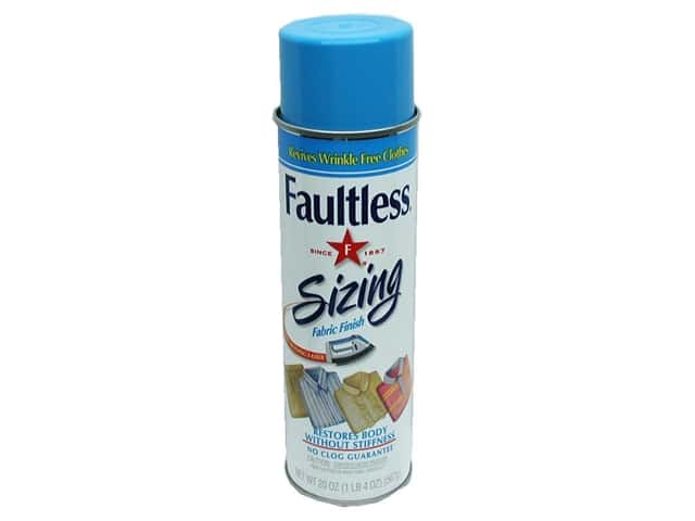 Faultless Spray Sizing