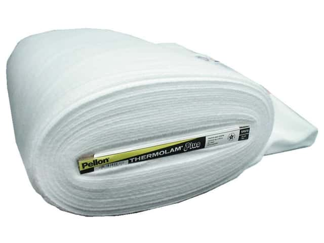 "Pellon Fleece Thermolam Plus 45""x 20yd White (20 yards)"