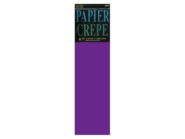 Crepe Paper Folds by Cindus 20 in. x 7 1/2 ft. Purple