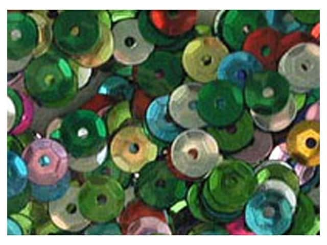 Accent Design 5 mm Cupped Sequins 800 pc. Multi