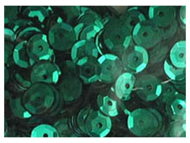 Accent Design 5 mm Cupped Sequins 800 pc. Green