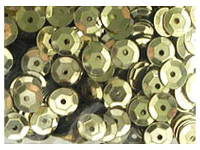 Accent Design 8 mm Cupped Sequins 200 pc. Gold